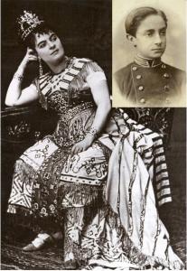Elena Sanz y Alfonso XII, Viena, 1872